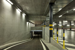 New underground parking Royalty Free Stock Image