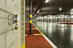 New underground parking Royalty Free Stock Photography