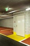 New underground parking Stock Image