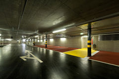 New underground parking Royalty Free Stock Photos
