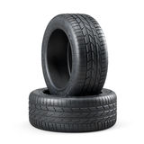 New unused car tires  Stock Images