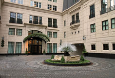 New upscale hotel in Chicago Stock Images