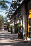 New Upscale Retail Shopping Center Stock Image