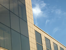 New urban business glass reflective building Stock Photo