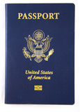 New USA Passport Book Royalty Free Stock Photo