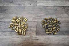 New and used bullets Stock Images