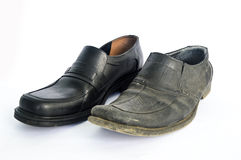 New and Used Shoes Stock Images