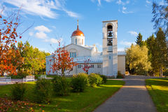 New Valaam monastery in Finland Royalty Free Stock Photos
