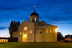 New Valaam Monastery in Finland Stock Photo