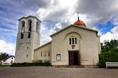 New Valamo monastery. Picture of new Valamo monastery church in Finland (Heinävesi Stock Photography