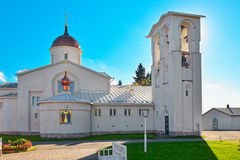 New Valamo orthodox church Stock Image