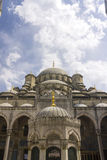 New Valide Sultan Mosque on a sunny day Royalty Free Stock Photography