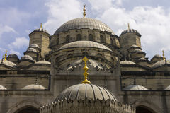 New Valide Sultan Mosque on a sunny day Stock Photos