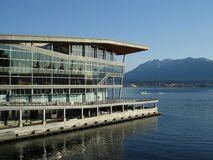New Vancouver Convention Center Stock Images