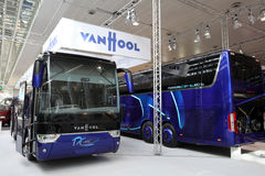 New Vanhool Bus TX 11 Alicron Stock Images