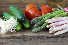 New Vegetables from the market Royalty Free Stock Image
