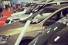 New Vehicles Stock Stock Photography
