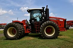 New Versatile 500 tractor. CASSELTON, NORTH DAKOTA, July 23, 2018: The new Versatile 500 tractor is a Canadian brand of agricultural equipment that has also Stock Photography