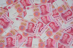 The new version of the RMB(gold 2015 Edition) Stock Image