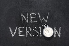 New version watch Royalty Free Stock Photo