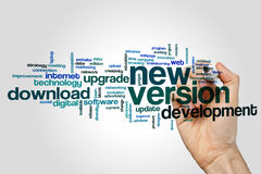 New version word cloud Stock Images