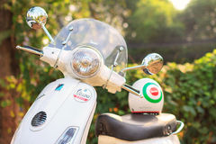 New Vespa LX125ie Royalty Free Stock Images