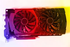 New video card Royalty Free Stock Photography