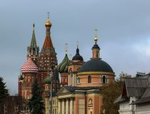 New views of the Moscow Kremlin Stock Images