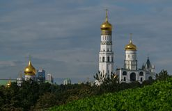 New views of the Moscow Kremlin Stock Photos