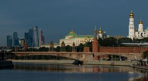 New views of the Moscow Kremlin Royalty Free Stock Image