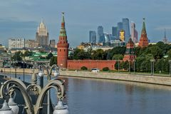 New views of the Moscow Kremlin Royalty Free Stock Photos