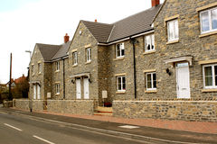 New village homes Stock Image