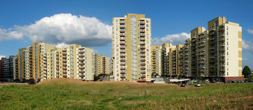 The new Vilnius city Royalty Free Stock Photos