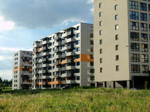 The new Vilnius city Stock Photos
