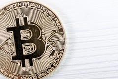 New virtual money. Cryptocurrency. Stock Image