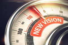 New Vision - Business or Marketing Mode Concept. 3D. Royalty Free Stock Photo