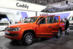 New Volkswagen Amarok Canyon Stock Image