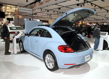 New Volkswagen Beetle Stock Photo