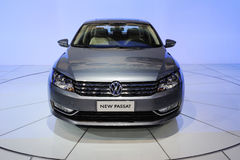 The new Volkswagen Passat Royalty Free Stock Photography