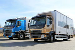 New Volvo FE and FL Trucks Stock Images