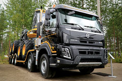 New Volvo FMX Truck at FinnMETKO 2014 Stock Images