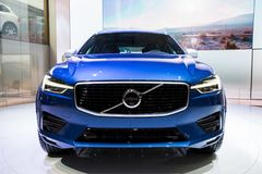 New 2018 Volvo XC60 car royalty free stock photography