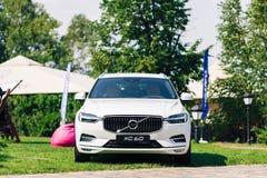New 2018 Volvo XC60 car. Kiev, Ukraine - 19 August 2017, New Volvo XC60 2018 presented to public in Ukraine Royalty Free Stock Images