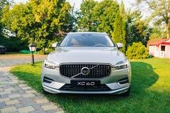 New 2018 Volvo XC60 car. Kiev, Ukraine - 19 August 2017, New Volvo XC60 2018 presented to public in Ukraine Stock Photos