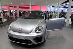 New VW Beetle R Royalty Free Stock Photos