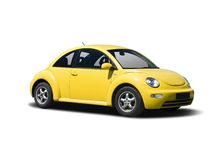 New VW Beetle Royalty Free Stock Photography