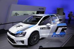 The New VW Polo WRC Race Car Royalty Free Stock Photos