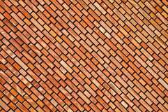 New wall of building with colored bricks Stock Images