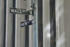 New Wall Street Royalty Free Stock Image
