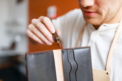 New wallet Royalty Free Stock Photo